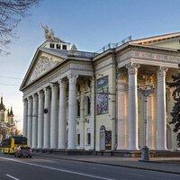 Музей снаружи. Архитектура Запорожья