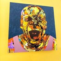 Biruchiy сontemporary art project. Открытие выставки